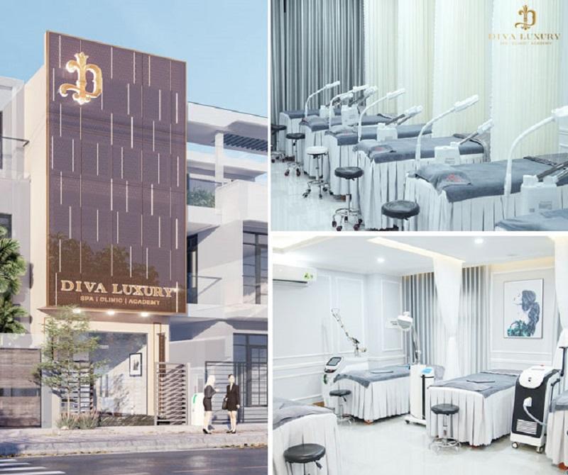 Thẩm mỹ quốc tế Diva Đà Nẵng đầu tư vào không gian nhất