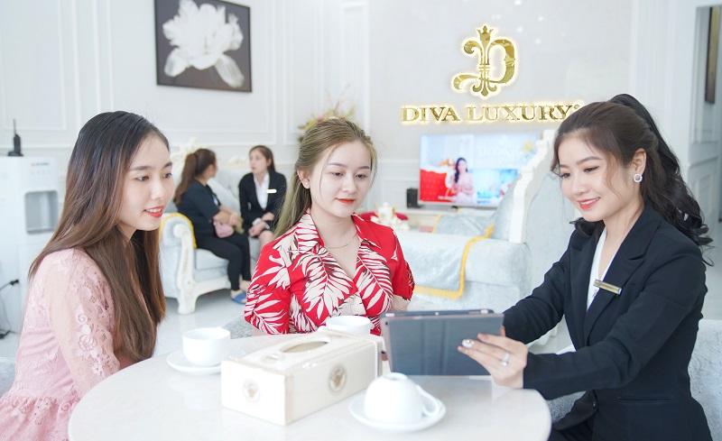 Diva Luxury sở hữu đội ngũ chuyên nghiệp